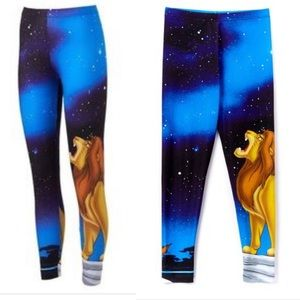 Disney lion king XL leggings